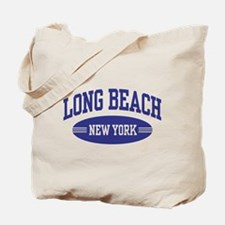 Long Beach New York Tote Bag