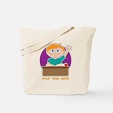Little Boy at School Tote Bag