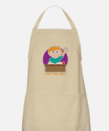 Little Boy at School Apron