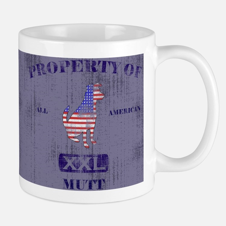 Property of American Mutt Mug