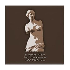 If You're Happy, Venus Tile Coaster