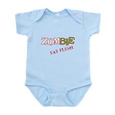 Zombie Eat flesh Infant Bodysuit