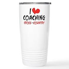 I Heart Coaching Cross Travel Mug