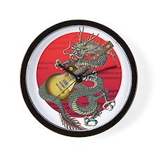 dragon LesPaul Wall Clock