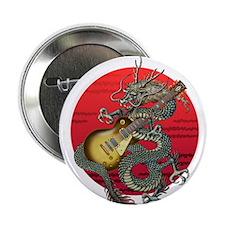"dragon LesPaul 2.25"" Button"