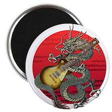 dragon LesPaul Magnet
