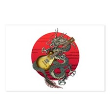 dragon LesPaul Postcards (Package of 8)