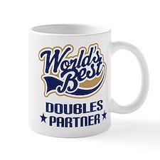 Doubles Tennis Partner Gift Mug
