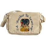 I'd Rather Be Sewing! Messenger Bag