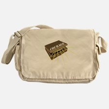 suitcase of courage Messenger Bag