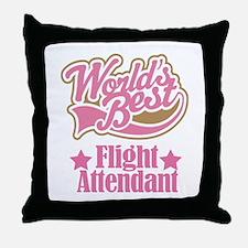 Flight Attendant Gift Throw Pillow