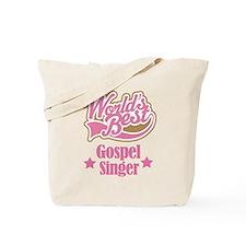 Gospel Singer Gift Tote Bag