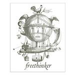 Freethinker Small Poster