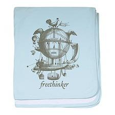 Freethinker baby blanket