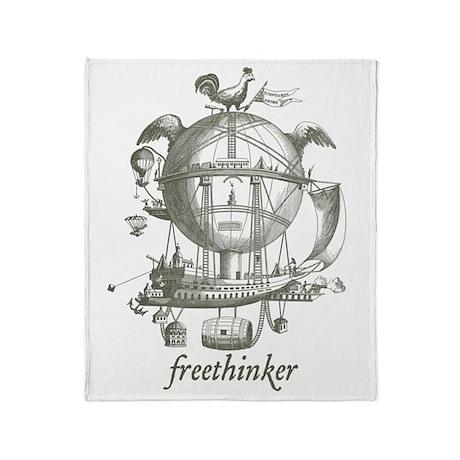 Freethinker Throw Blanket