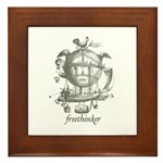 Freethinker Framed Tile