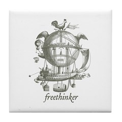 Freethinker Tile Coaster
