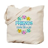 Best friends Canvas Totes