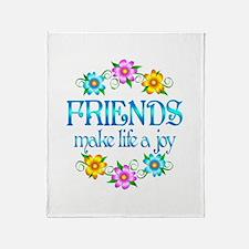 Friendship Joy Throw Blanket