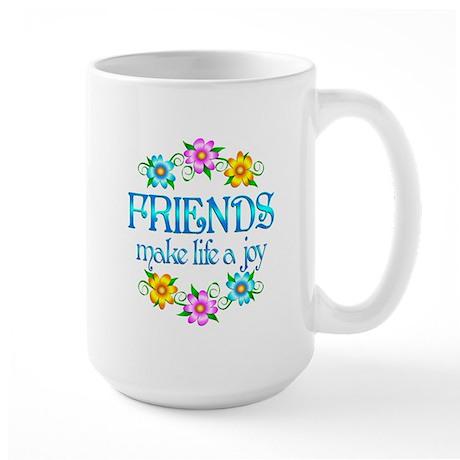 Friendship Joy Large Mug