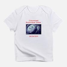 I Survived Hurricane Irene Infant T-Shirt