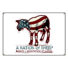 A Nation of Sheep Banner