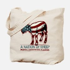 A Nation of Sheep Tote Bag