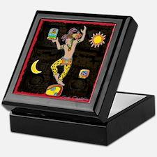Mayan Jaguar Man Keepsake Box