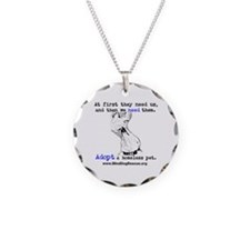 Cute Homeless pets Necklace
