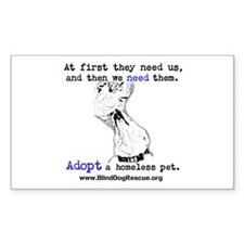 Cute Adopt homeless pets Decal
