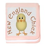 New England Chick baby blanket