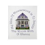 My Idea Of Housework... Throw Blanket