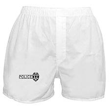 Police Sheild Boxer Shorts