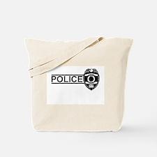 Police Sheild Tote Bag