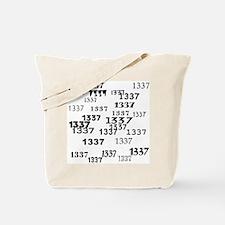 Leet 1337 Leetspeak Tote Bag