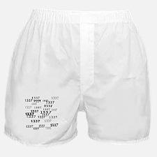 Leet 1337 Leetspeak Boxer Shorts