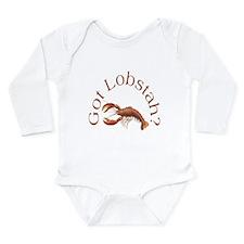 Got Lobstah? Long Sleeve Infant Bodysuit