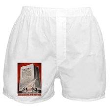 """""""Books cannot be killed by fi Boxer Shorts"""