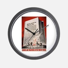 """Books cannot be killed by fi Wall Clock"