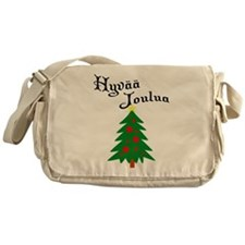Hungarian Christmas Tree Messenger Bag