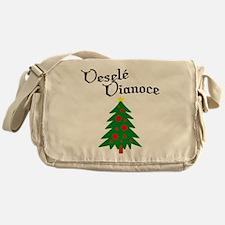Slovak Christmas Tree Messenger Bag