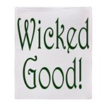 Wicked Good! Throw Blanket