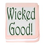 Wicked Good! baby blanket