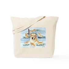 The Versatile Golden Tote Bag
