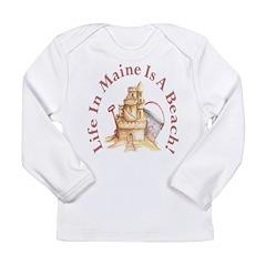 Life's a Beach! Long Sleeve Infant T-Shirt