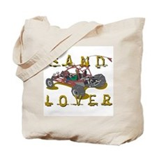 Sand Lover Dune Buggy Tote Bag