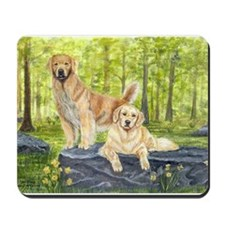Golden Pair Mousepad