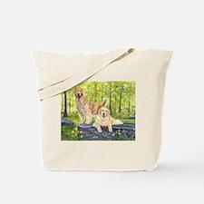 Golden Pair Tote Bag