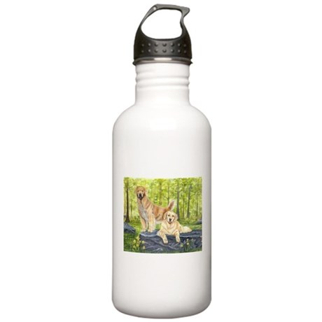 Golden Pair Stainless Water Bottle 1.0L
