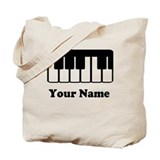 Piano Canvas Totes